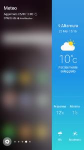 Screenshot GALAXY S6 Edge