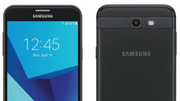 Samsung Galaxy J7 2017 close