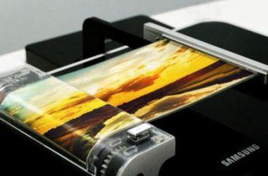 Schermo flessibile Samsung