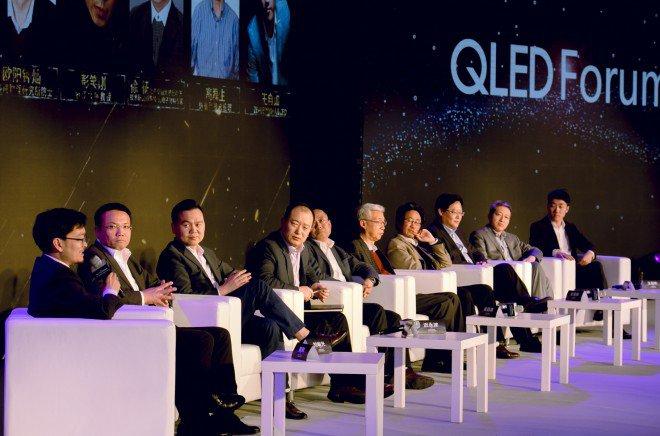 Conferenza Samsung QLED TV