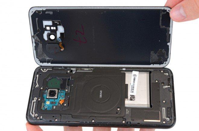 Galaxy S8+ Plus teardown 2