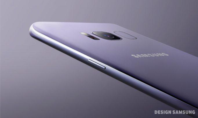 Galaxy S8 cover posteriore