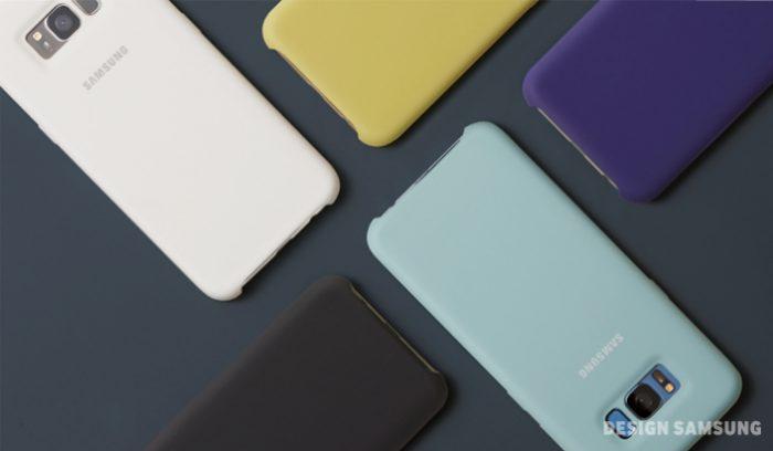 Galaxy S8 cover silicone