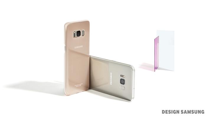 Galaxy S8 cover trasparente