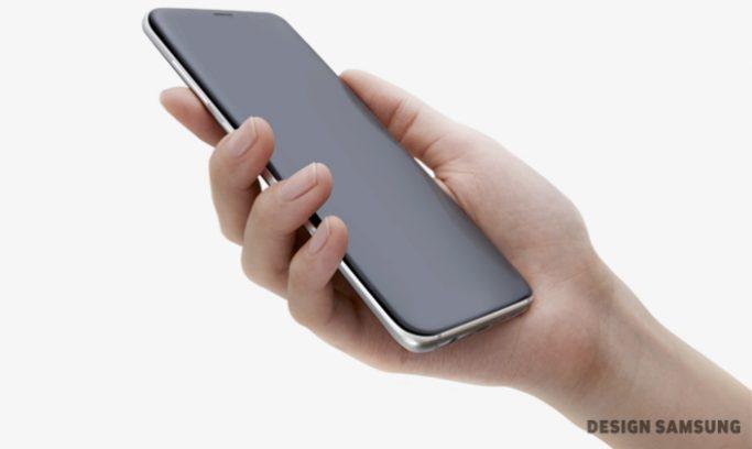 Galaxy S8 display Edge