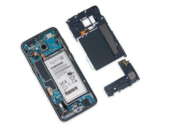 Galaxy S8 motherboard