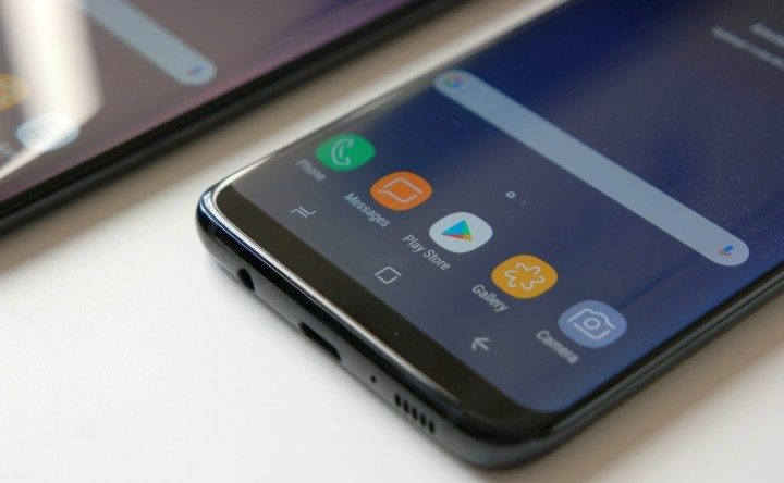 Galaxy S8 pannello anteriore