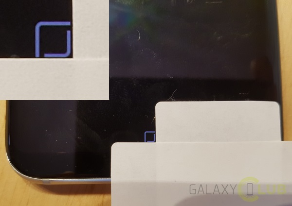 Galaxy S8 pulsante Home