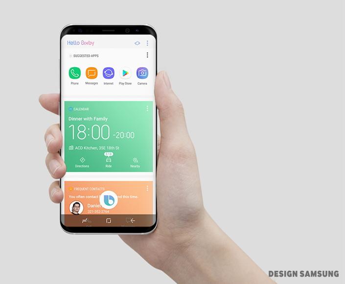Galaxy S8 samsung Bixby