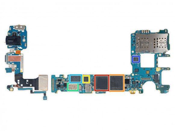 Galaxy S8 teardown 4