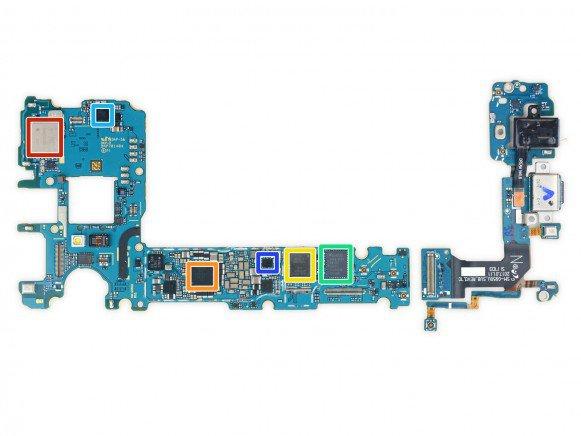 Galaxy S8 teardown 5