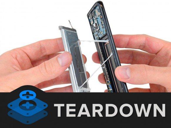 Galaxy S8 teardown batteria