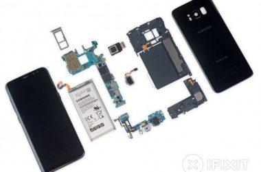 Galaxy S8 teardown iFixit