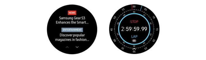Gear S3 cronometro Value Pack