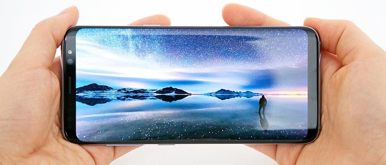 Samsung Display Full screen