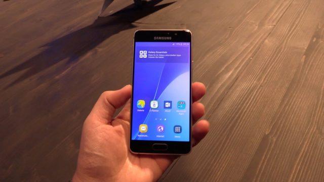 Samsung Galaxy A3 2016 Certificazione WiFi