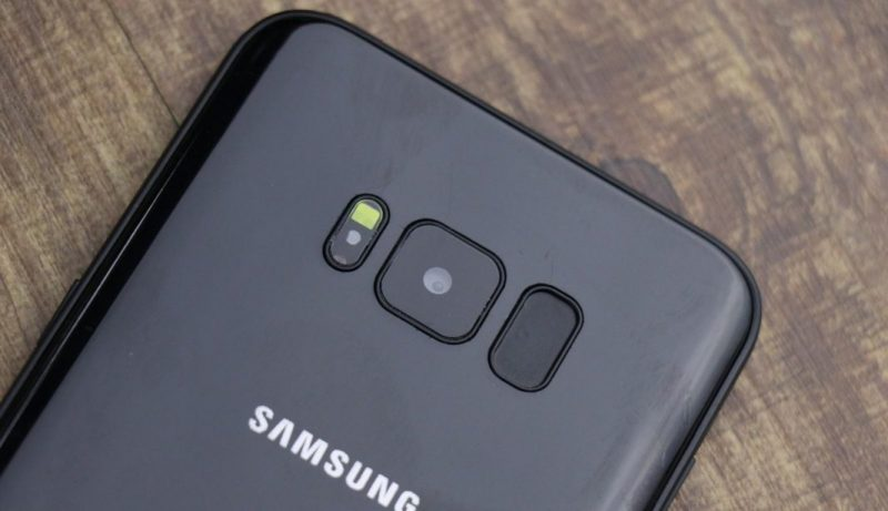 Samsung Galaxy S8 lettore impronte