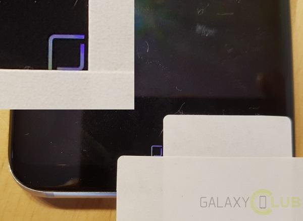 Samsung Galaxy S8 pulsante Home