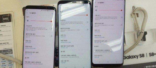 Samsung Galaxy S8 rosso