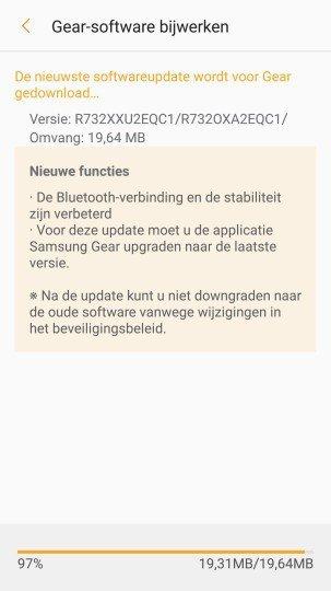 Samsung Gear S2 Tizen 2.3.2.2