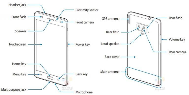 Samsung Z4 manuale smartphone