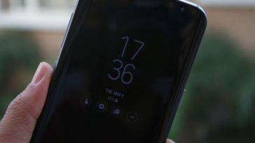 Galaxy S8 AOD