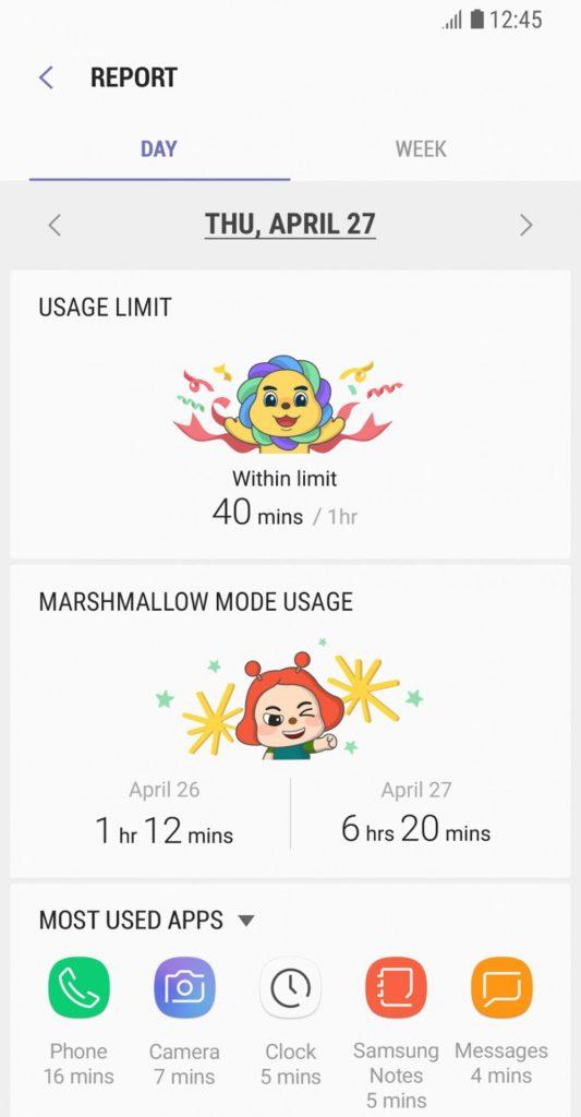 Parental Control Samsung app