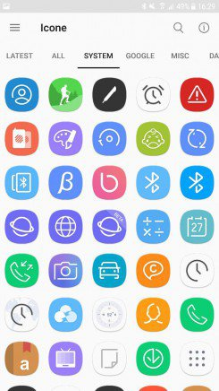 Samsung Galaxy S8 icon pack 4