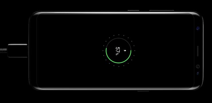 Samsung Galaxy S8 ricarica rpida