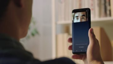 Samsung Galaxy S8 scanner dell'iride