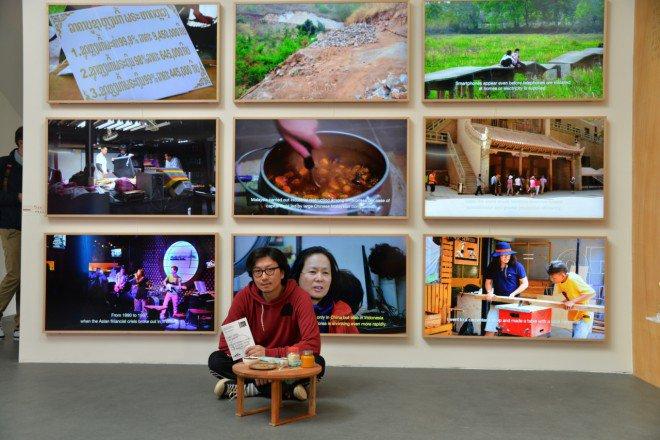 Samsung TV Frame Biennale di Venezia