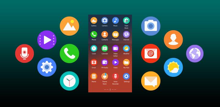 Samsung Tizen icone