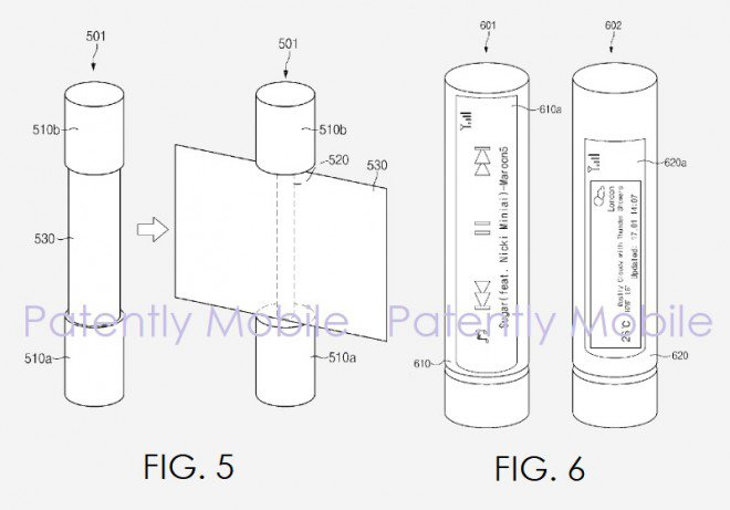 Samsung brevetto dispositivo all in one