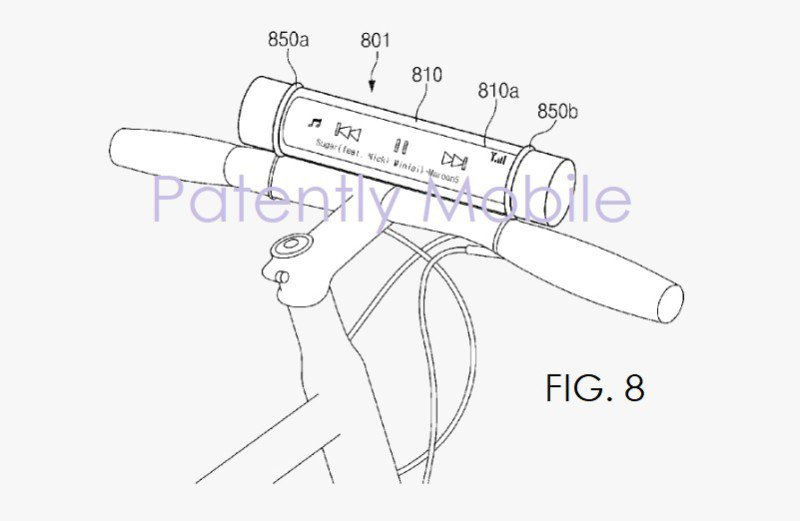 brevetto Samsung display
