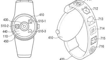 brevetto Samsung fotocamera smartwatch