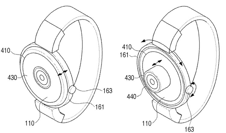 brevetto smartwatch Samsung