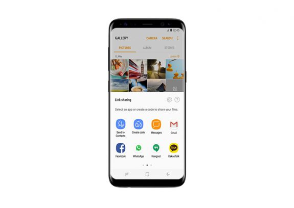 Galaxy S8 Samsung Cloud Link