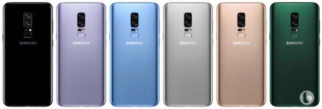 Samsung Galaxy Note 8 render 5 versione 2