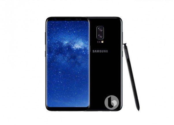 Samsung Galaxy Note 8 render 6 versione 1