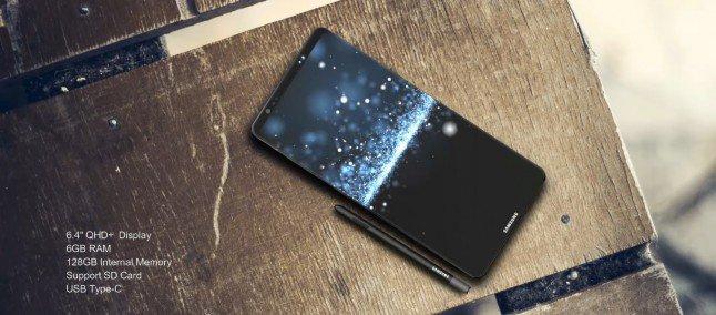 Samsung Galaxy Note 8 uscita