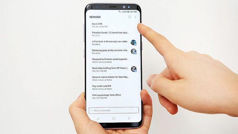 Samsung Galaxy S8 aggiornamento Giugno 2017