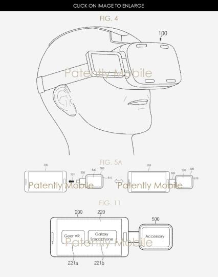 Samsung Gear VR trackpad interattivo
