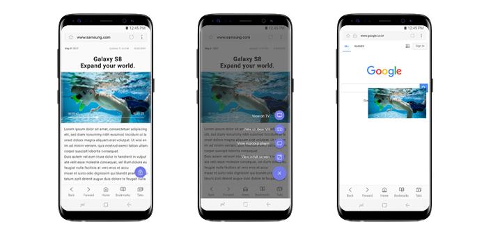 Samsung Internet 5.4 update