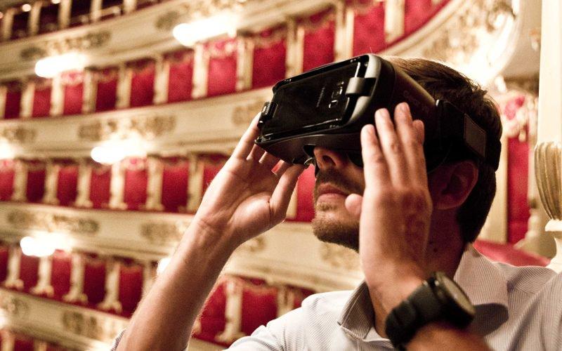 Realtà virtuale alla Scala di Milano: Samsung dà spettacolo