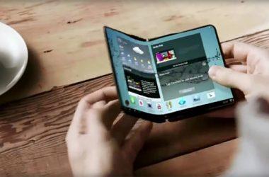 Samsung Galaxy X smartphone pieghevole