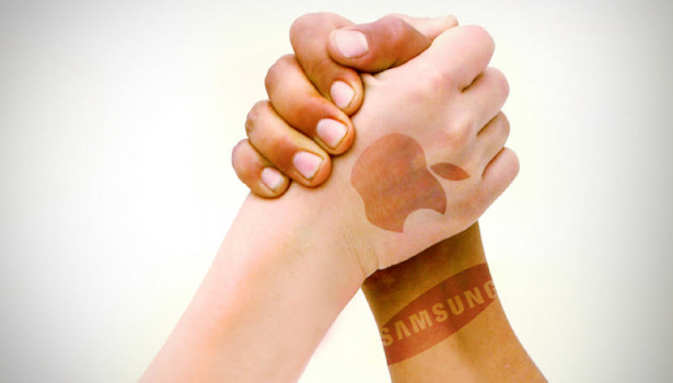 apple vs Samsung braccio di ferro
